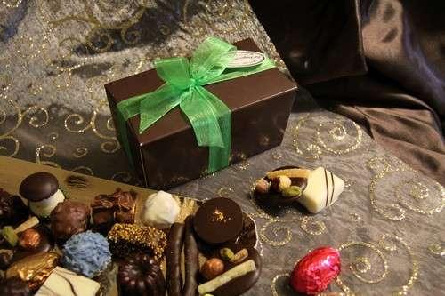 Ballotin de 250g de chocolats : Chocolat