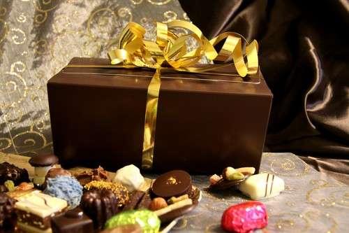 Ballotin de chocolat assorti 1kg : Chocolat