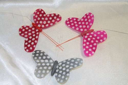 Papillons tiges :