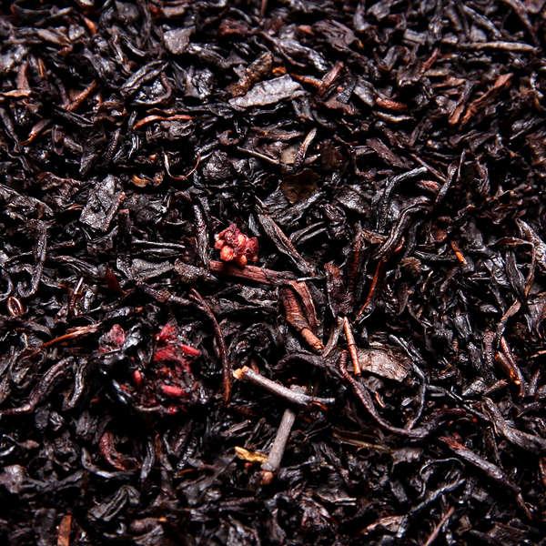 Thé Noir Quatre Fruits Rouges : Thé