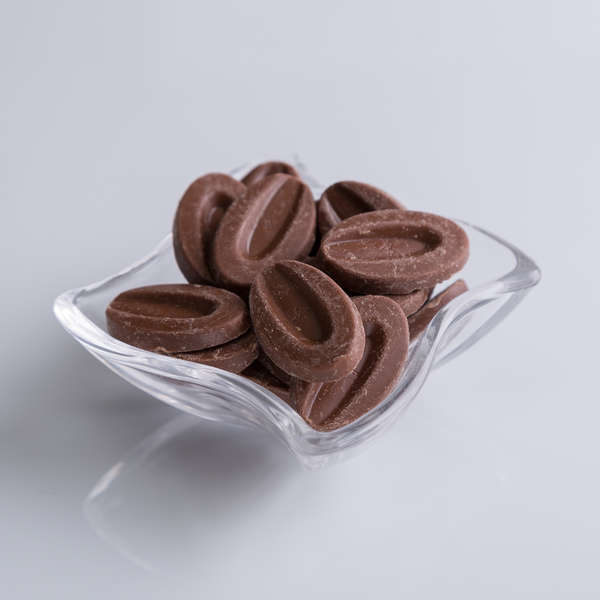 Pastilles au chocolat Lait : Chocolat