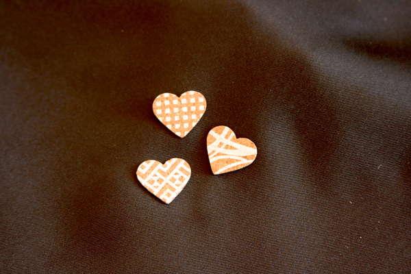 Coeur Liège à Coller : Emballages
